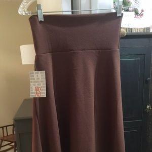 LulaRoe Azure, Size XS, Brown BNWT